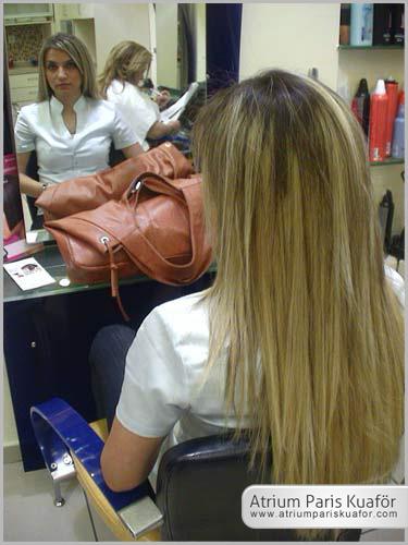 kabarık saç bakımı