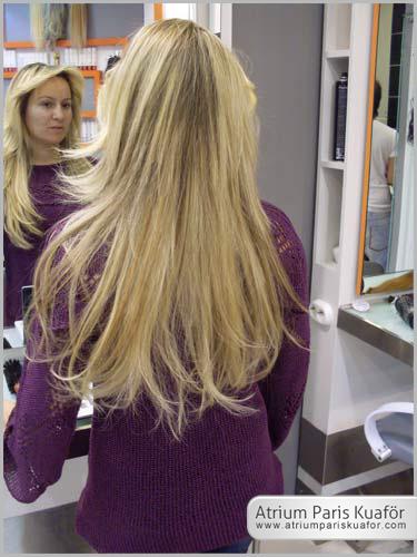 dökülen saçlar