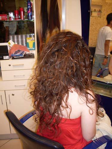 evde saç bakımı yapmak