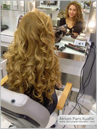 saç kürleri