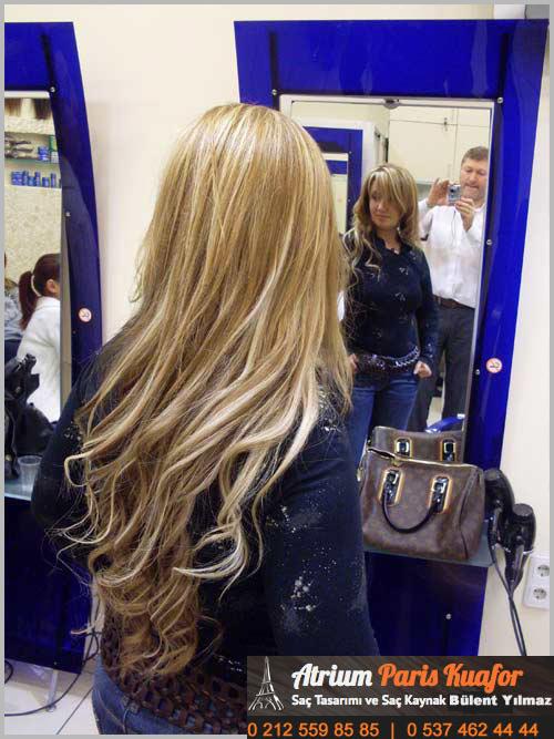 halka kaynaklı saç