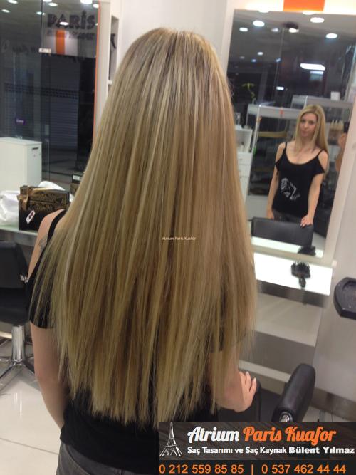 yağlı saçlara saç bakımı