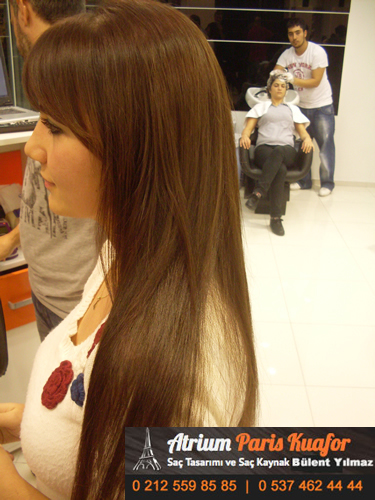 uzun saç