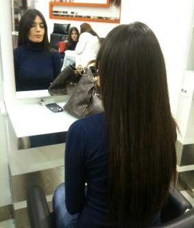 Keratin Saç Kaynak Uygulama Öncesi Sonrası
