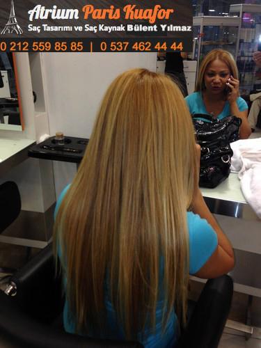 boncuk saç kaynağı