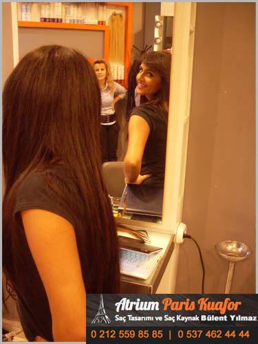 saç kaynak modeli
