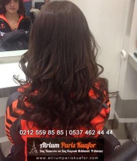Kıvırcık Saça Mikro Saç Kaynak Uygulaması