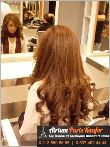 ipeksi saçların bakımı
