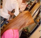 saç düzleştirme