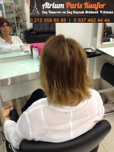 kısa saça kaynak yapılır mı
