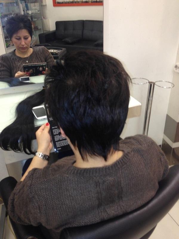 mikro jel saç kaynak modeli