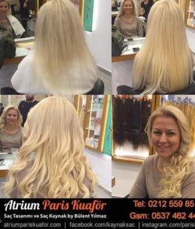 Doğal Saç Kaynak