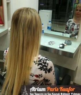 Uzun Saçlar İçin Kaynak Uygulaması